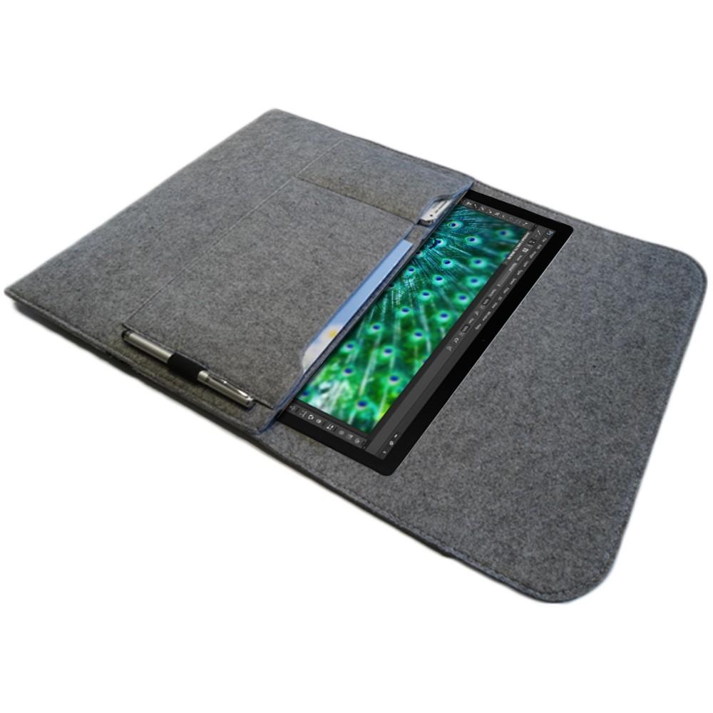 tasche h lle f r microsoft surface pro 4 filz sleeve. Black Bedroom Furniture Sets. Home Design Ideas