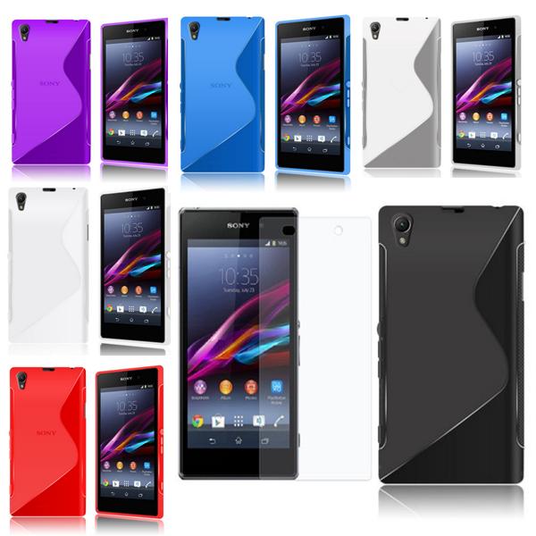 Handy-Huelle-Tasche-fuer-Samsung-Apple-Sony-LG-HTC-Schutzhuelle-S-line-Case-Cover